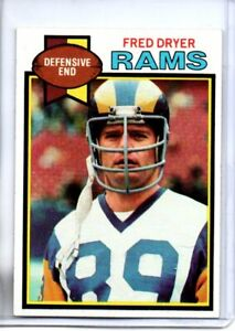 1979 TOPPS FRED DRYER (EXMT) <<