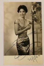 Vintage Hong Kong actress Pat Ting Hung real signed photo autograph 丁紅 簽名照片 B