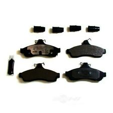 Disc Brake Pad Set-Semi-metallic Pad Kit with hardware Rear Autopartsource