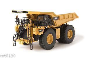 """Caterpillar 789D Dump Truck - """"YELLOW"""" - 1/87 - Brass - CCM - 150 Made"""