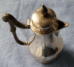 Antique Thomas Bradbury & Sons LTD Sheffield Sterling Silver Teapot NO RESERVE