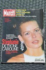 REVUE PARIS MATCH N°2621/1999 STEPHANIE DETRONE CAROLINE DE MONACO /AFFAIRE ELF