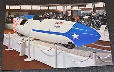 Classic 1955 650cc TRIUMPH STREAMLINER . Motorcycle Postcard new