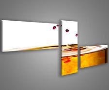 Quadri moderni astratti 180 x 70 stampe su tela canvas con telaio MIX-S_166