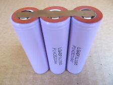 Lot 3 pcs LG 3.7V 3350mAh LGABF1L1865 18650 Lithium Li-Ion battery LGABF1L18650