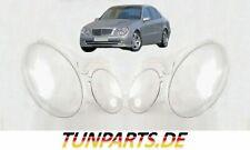 Scheinwerfer Glas für Mercedes E klasse W211 vor Facelift Streuscheiben NEU