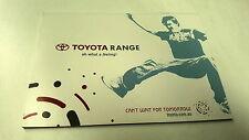 2006  TOYOTA Range  Australian Sales Brochure Corolla Landcruiser Hilux etc
