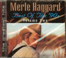 MERLE HAGGARD - BEST OF THE 90'S VOL. 2 - CD - NEW - FAST FREE SHIPPING !!!