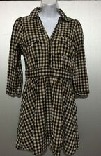 Divided by H&M Womans Girls Dress Size 8 Checkerd V Neck