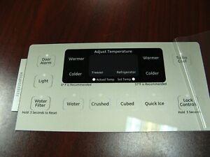 GE Refrigerator Dispenser Overlay only for WR55X10907, Genuine OEM, Brand New