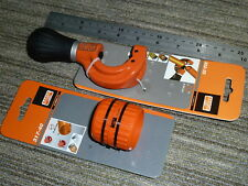 BAHCO 8-35mm ADJUSTABLE PIPE CUTTER + 3-40mm REAMER Genuine BRAND NEW 302-35 317