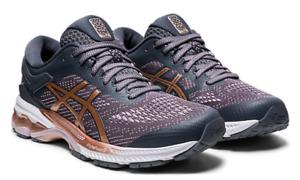 ASICS *new in box* Sz 8 Women's Gel Kayano 26 Running Shoes Metropolis Rose Gold