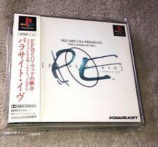 Parasite Eve - Playstation 1 PS1 NTSC JAP - Complet