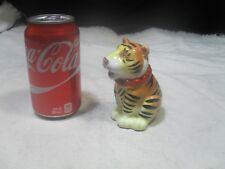 1 ~ Tiger Figurine Salt or Pepper Shakers