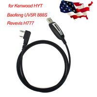 Retevis USB Programming Cable for H777 Baofeng UV5R/888S Kenwood 2Pin HYT Radios