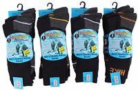 Mens Boys Hiking Socks Chunky Thick Thermal Winter Warm Work Black Adults Lot