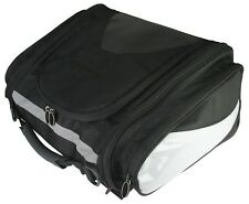 MOTORCYCLE TOURING TAIL BAG EXPANDABLE UPTO 30 LITRES WITH RAIN COVER