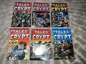 TALES FROM THE CRYPT #1,2,3,4,5,6 FANTASY/HORROR/GLADSTONE COMICS
