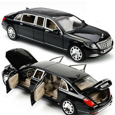 Car Model 1:24 Mercedes-Benz Maybach Alloy Diecast Car Toy Pull Back Cars Gifts