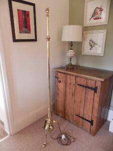 Beautiful Antique Brass Standard/Floor Lamp
