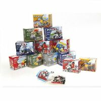 Construction Brick Toy Brick Set Police Fire Engine Brigade Army Race Kids Fun