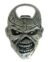 Iron Maiden Bottle Opener Eddie Skull Band Logo new Official Metal One Size