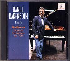 Daniel BARENBOIM: BEETHOVEN Diabelli Variations Op.120 1965 Ermitage CD