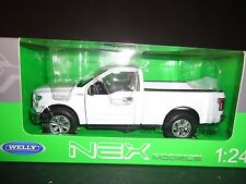 Welly Ford F150 Regular Cab 2015 White 1/24
