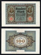 100 mark Reichsbanknote Germany 1920  SUP/AU  //