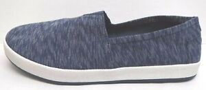 Toms Size 10 Blue Loafers New Mens Shoes