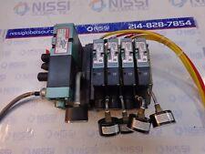Numatics Control Block W/Valve Manifold 153SA415M012B Qty 1. 062BA415M012B Qty 4