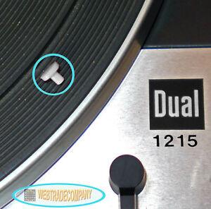 Plattenspieler Dual 1215 Ersatz Steuerpimpel sehr passgenau NEU!