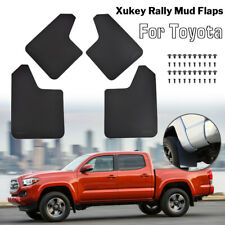 4pcs/Set Rally Splash Guards For Toyota Mudflaps Mud Flaps Mudguards Front Rear