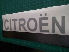 Citroen...Door.. car vinyl decal sticker ....x2..
