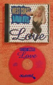 555 CD VARIOUS - WEST COAST RADIO HITS LOVE 1997 WESTCD 12 CVDC