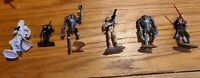 Star Wars LFL Hasbro 2005 Mini Figures Clone Wars lot of 13