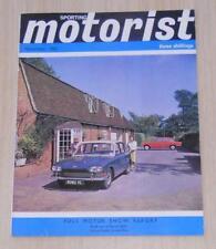 SPORTING MOTORIST Magazine Nov 1963 - Rover 2000, Ford Corsair, Jaguar S ++