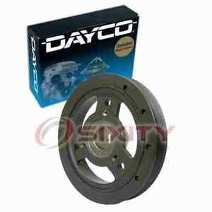 Dayco Engine Harmonic Balancer for 1991-2002 Jeep Wrangler 2.5L L4 Cylinder qk