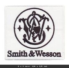 SMITH WESSON Aufnäher Patches Waffen Guns Pistolen Colt Magnum BLITZVERSAND