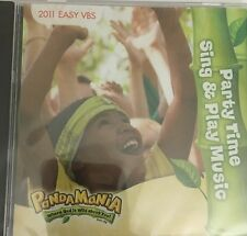 Vacation Bible School Music CD Panda Mania Party Time Sing & Play Easy Songs-NEW