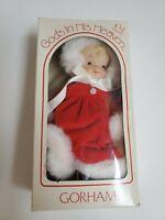 Gorham GOD'S IN HIS HEAVEN Christmas GIRL Ornament Porcelain 1984 Doll