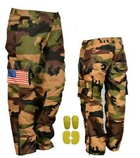 New Camoglague Textile Trousers for Men Motorbike Motorcycle  with CE Armour