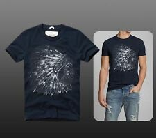 Abercrombie & Fitch Men's Graphic Cotton Short Sleeve T-Shirts