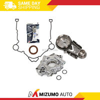 Timing Chain Kit Oil Pump Cover Gasket Fit 04-08 Chrysler Dodge Jeep 5.7 HEMI