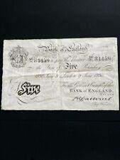 More details for catterns £5 june 1930. genuine. avf