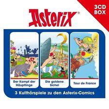 Asterix Hörspielbox 2 Box - Häuptlinge / Sichel / France - Hörbuch - CD - *NEU*