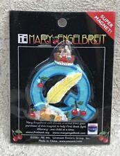 "Mary Engelbreit Letter Q Super Magnet Alphabet 2001 Enesco Queen Quill 2"" New"