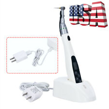Dental LED Wireless 16:1 Reduction Contra Angle Endo Motor Treatment T-FINE-IPRO