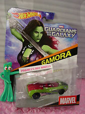 RARE 2015 MARVEL Comics Hot Wheels☆Guardians of the Galaxy #13 GAMORA☆Die-cast
