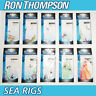 Ron Thompson Ready Tied Sea Rigs - Cod Pollock Herring Mackerel Fishing Tackle